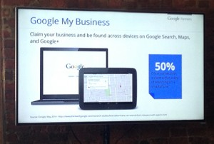 Claiming your listing for Google My Business