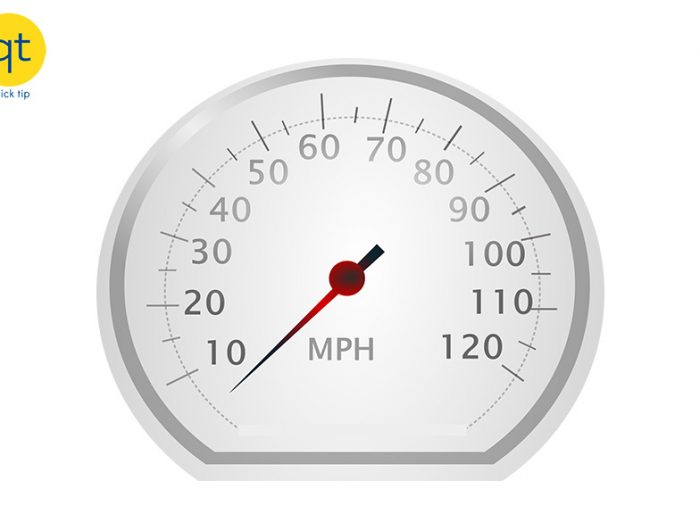 Quick Tip - Speedometer
